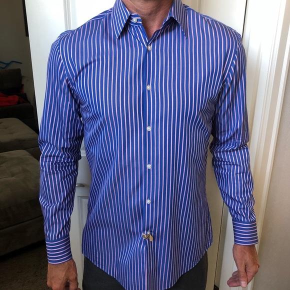 c8032cc40 Hugo Boss Shirts | Mens Slim Fit Dress Shirt | Poshmark